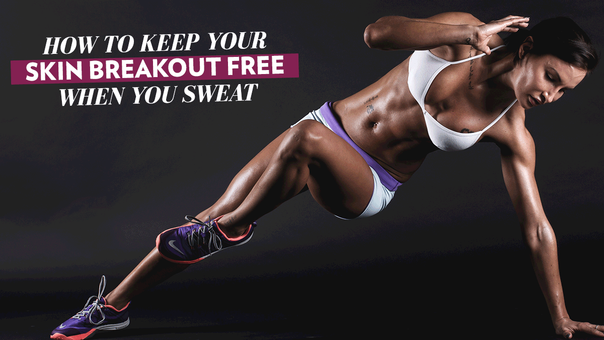 Image of Bodyrock blog article - How to Keep Your Skin Breakout Free When You Sweat