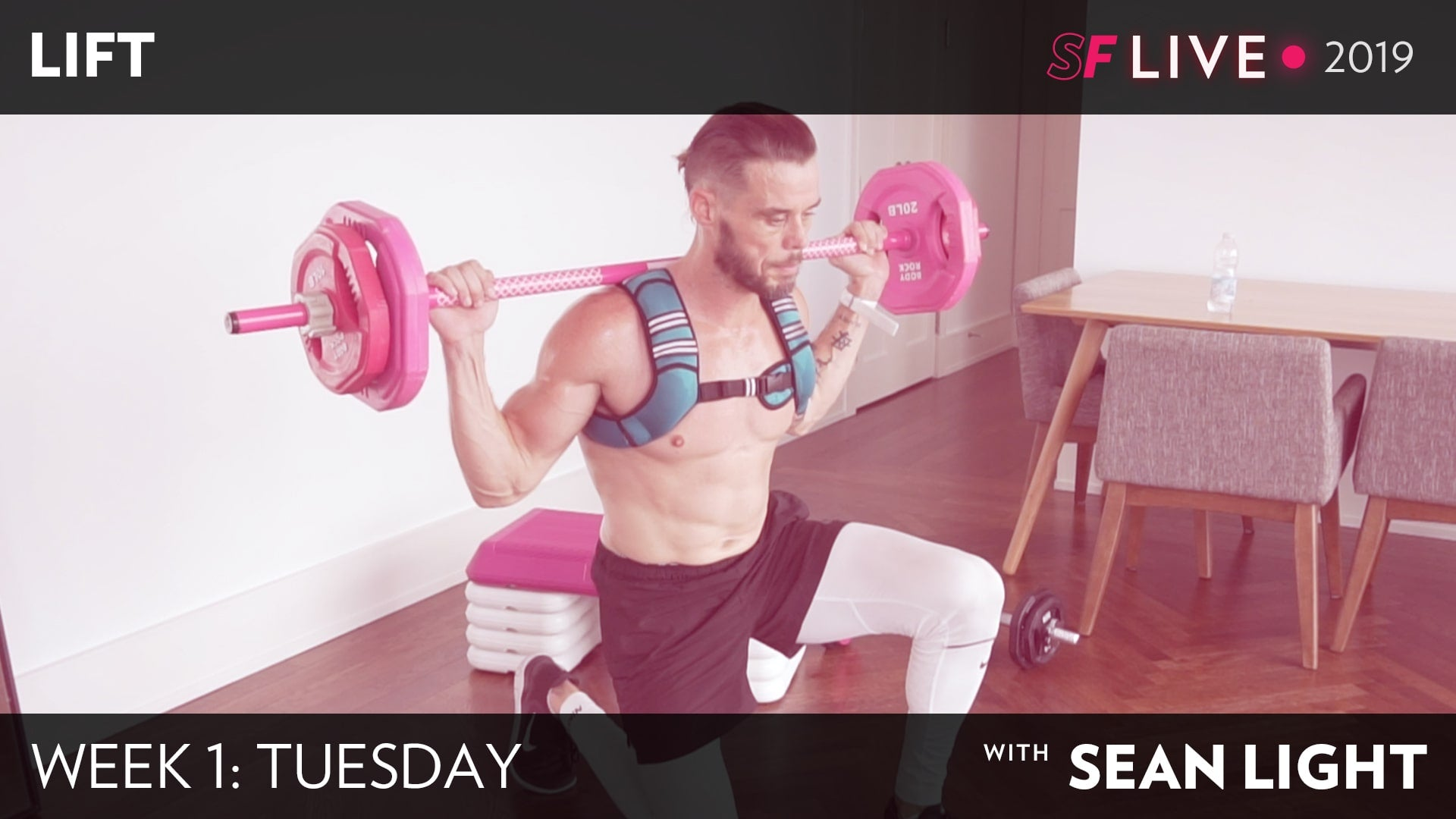 LIFT Workout with Sean Light - Tuesday Week 1