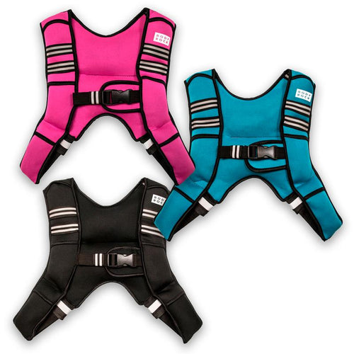Bodyrock Weighted Vest of 8LB 10 LB and 6LB Trio Bundle