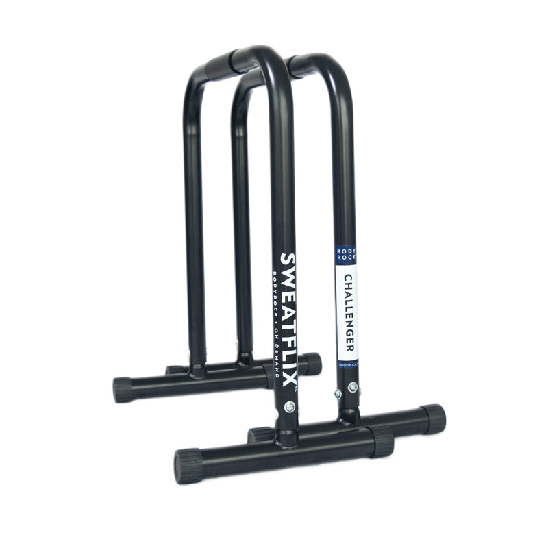 Image of BodyRock Challenger Bars White by BodyRock.Tv