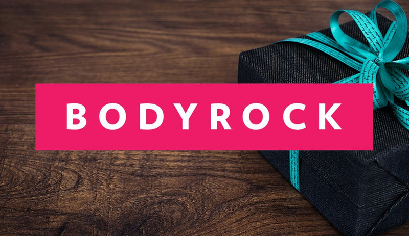BodyRock Thinking of You Gift Card