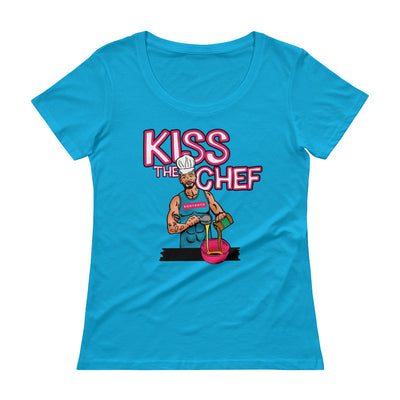 Image of BodyRock Chef Sean shirt Caribbean Blue / XS by BodyRock.Tv