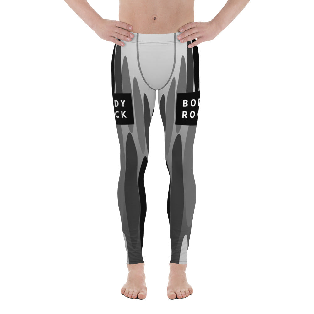 Image of BodyRock Men's BodyRock ovals Leggings XS by BodyRock.Tv