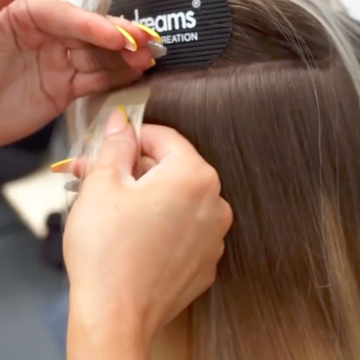 Tips on caring for your Hairdreams tape-in hair extensions at home