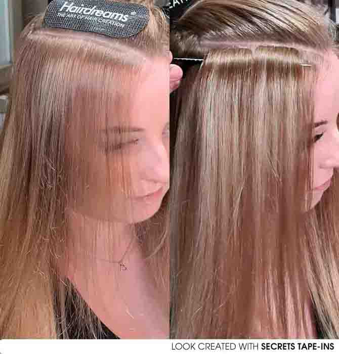 Hair extensions tapes