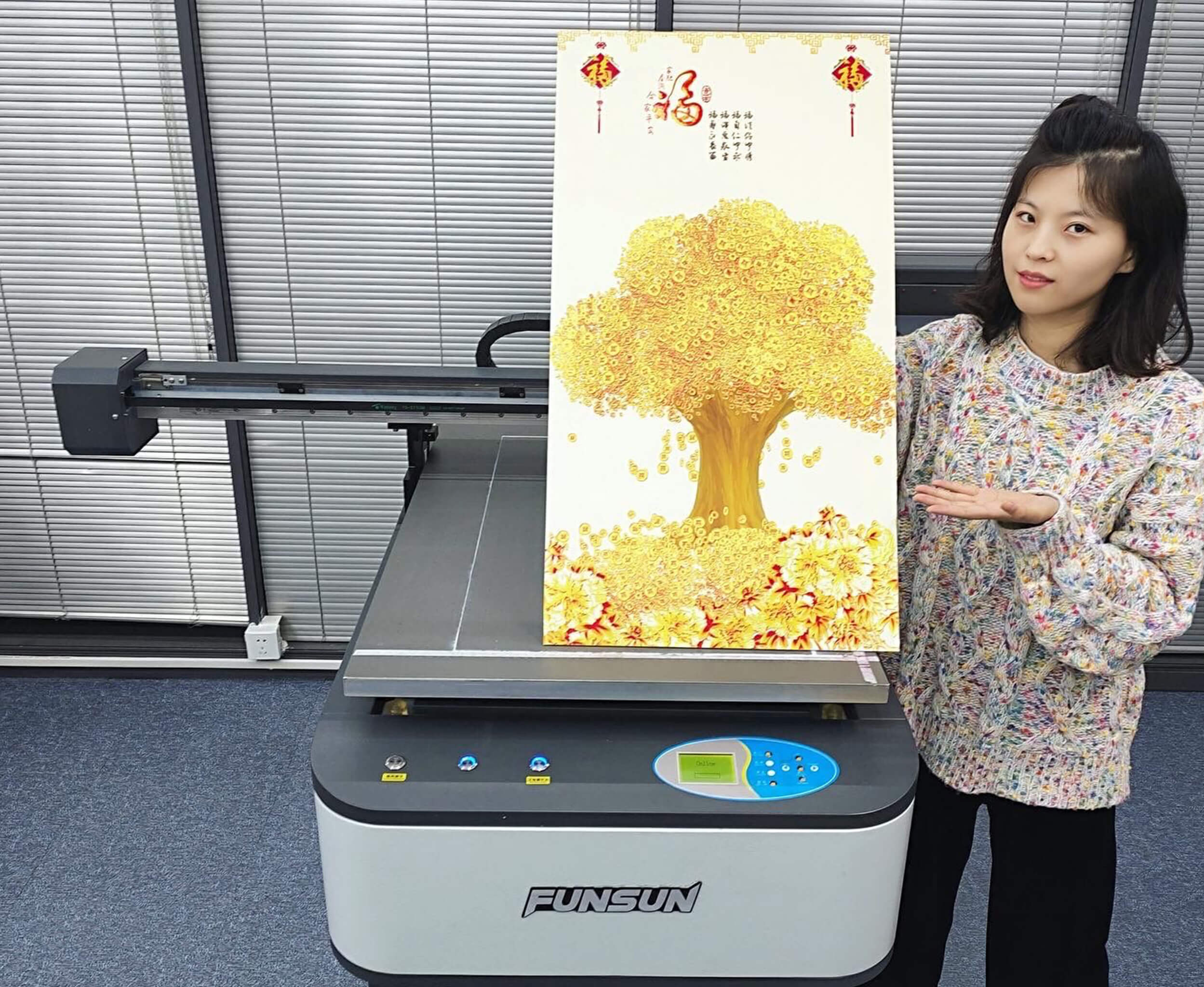 A1 UV FLATBED PRINTER