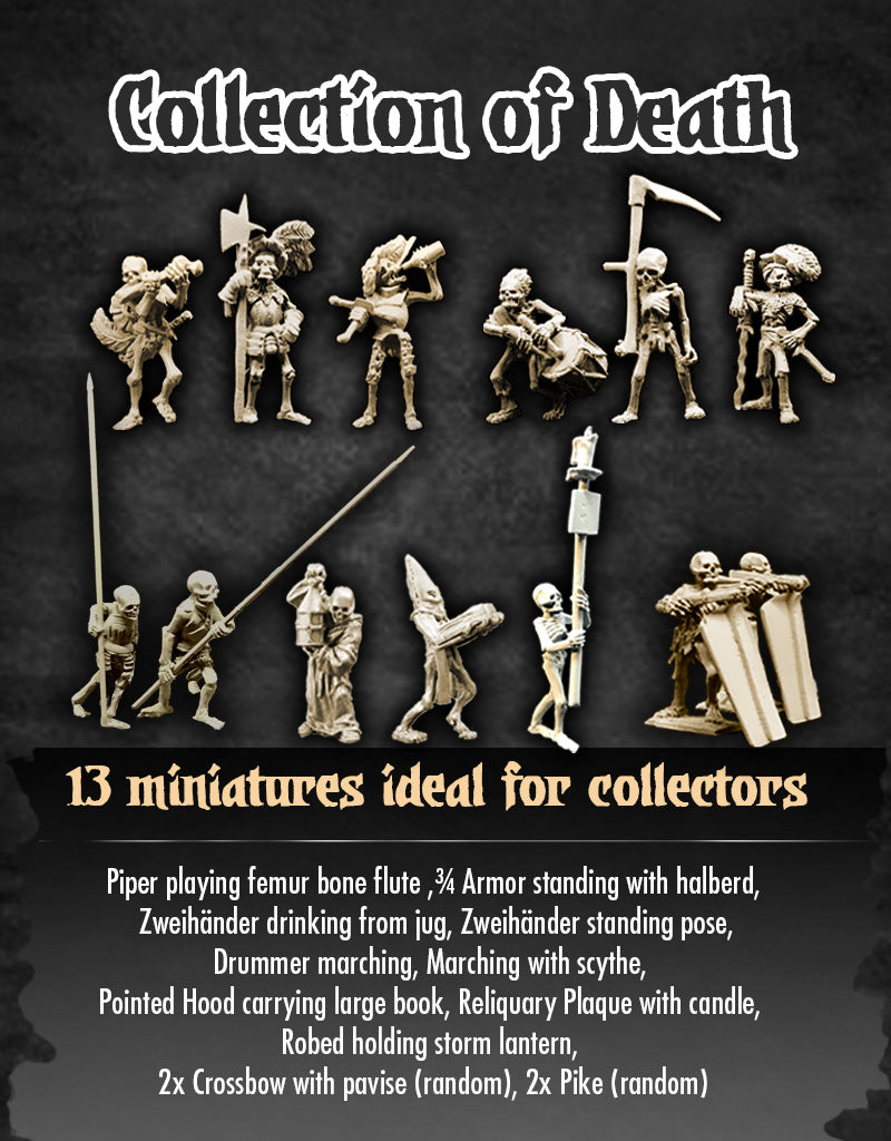 Skeleton Collection of Death
