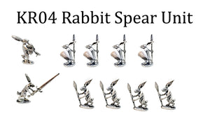 Killer Rabbits Spear Unit