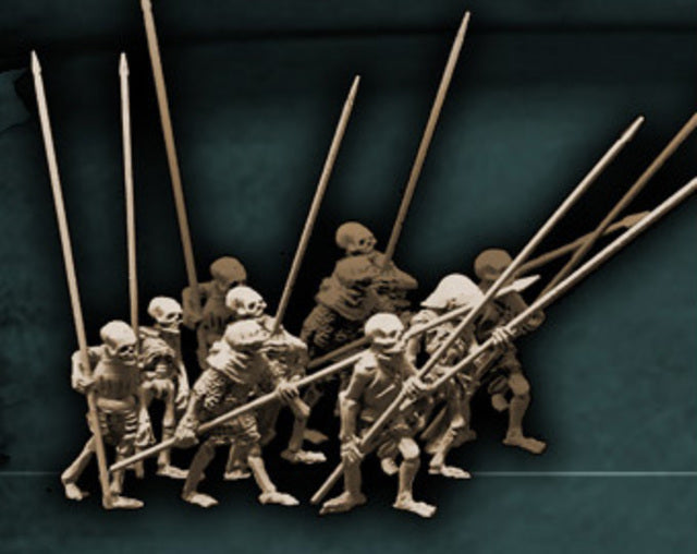 Skeletons with Pikes
