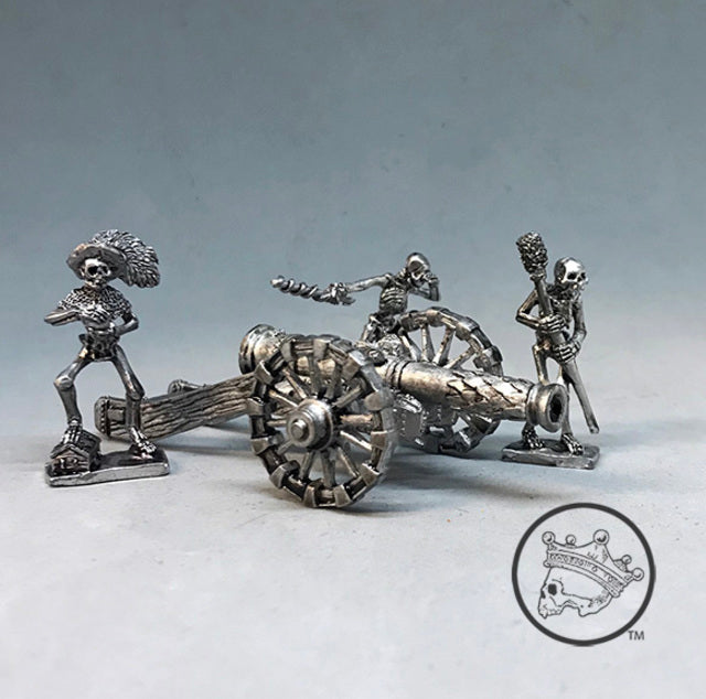 Skeleton Cannon and Crew