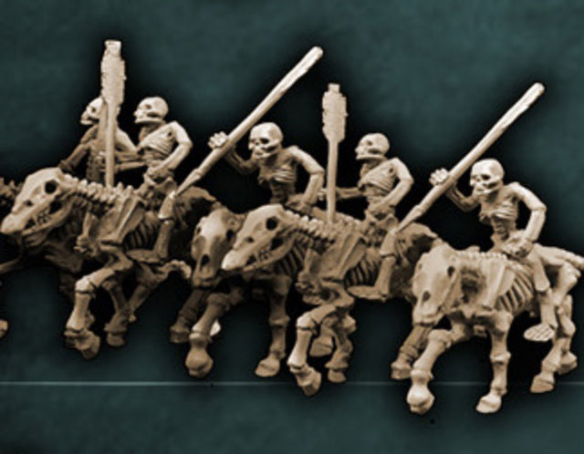 Skeleton Cavalry with Darts