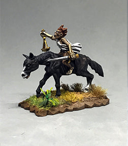 Mounted Famine Commander