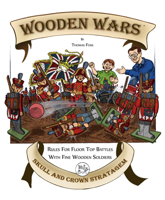 Wooden Wars - Rule Book (PDF download)