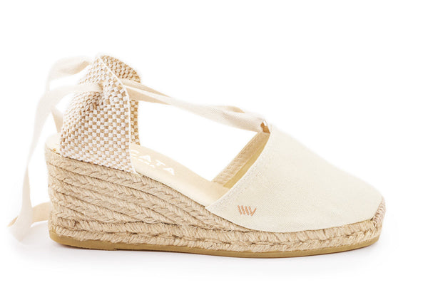 Escala Wedges - Ivory