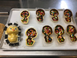Easter Chicks Filled with Jelly Beans