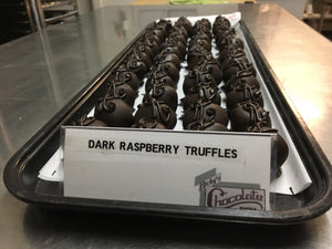 Dark Raspberry Truffles