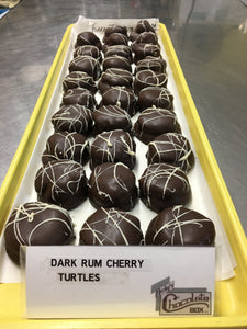 Dark Rum Cherry Turtles