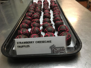 Strawberry Cheesecake Truffles