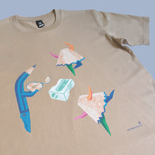 Load image into Gallery viewer, 'Dancing Pencil Sharpenings' Mens' T-Shirts