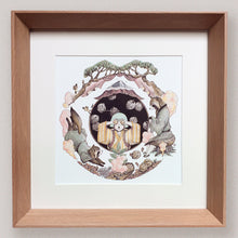 Load image into Gallery viewer, 'Ayako And Mujina' - Ready to Hang Framed Print