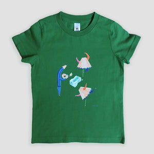 Kids T-shirt 'Dancing Pencil Sharpenings'