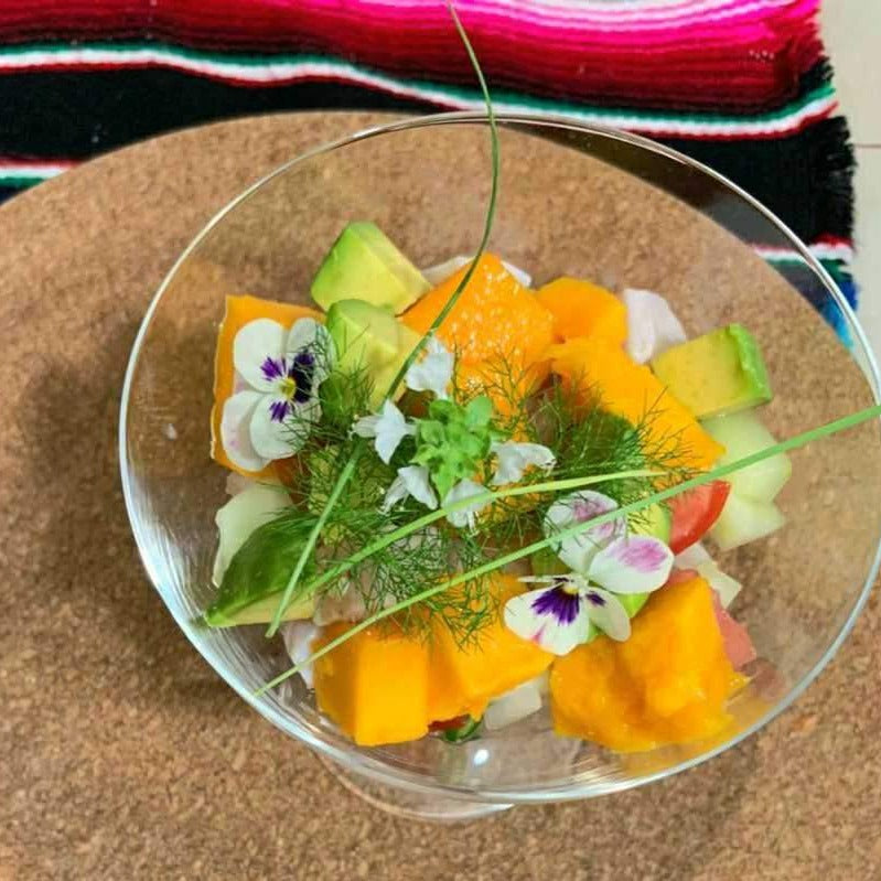 Ceviche with Eduardo from Mexico