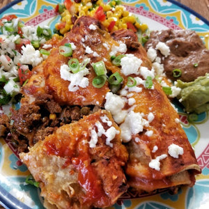 Enchiladas and Chilaquiles with Graciela from Mexico