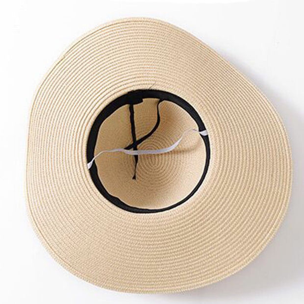 Floppy Straw Beach Hat