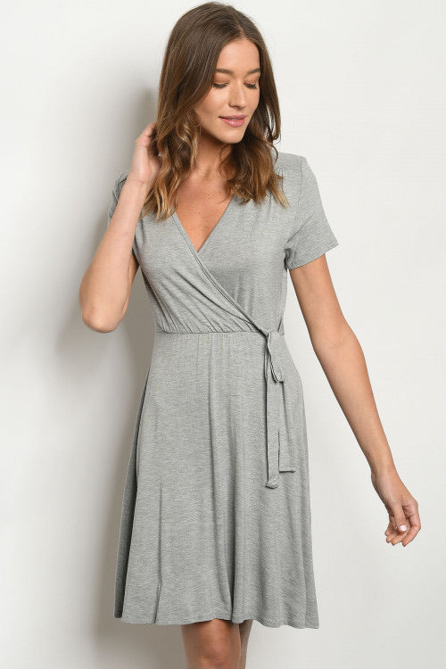 Live This Way Dress, Grey