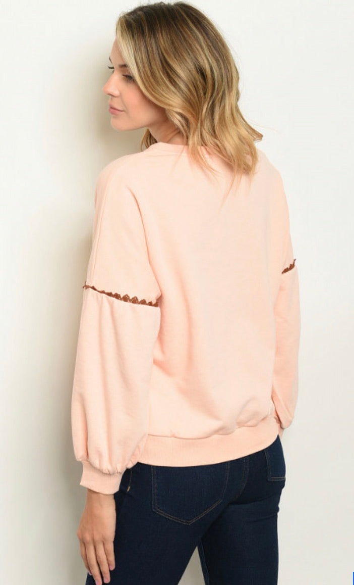 Cute As A Peach Sweatshirt
