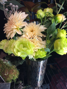 Cut Flowers with Vase