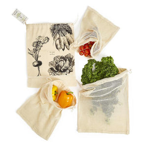 Reusable Produce Bags, set of 4