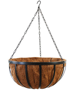 Traditional Hanging Basket (Coco Liner included) 12""