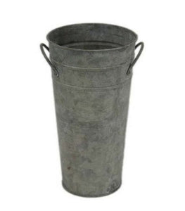 French Zinc Flower Bucket (each size sold separate)