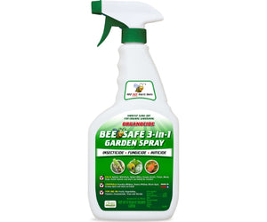 Organocide Bee Safe 3-in-1 Garden Spray Ready to Use 24oz
