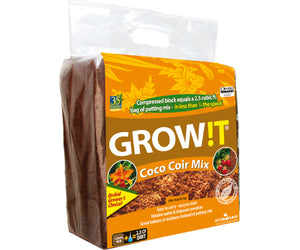 GROW!T Organic Coco Coir Mix (9 lbs. 14 oz.)