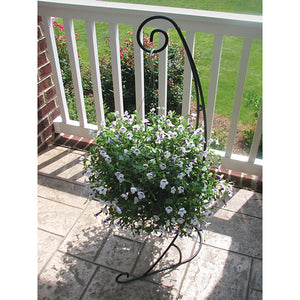 Tina's Tower, Hanging Basket Stand 36""