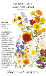 Flower Mix - Water-Wise Garden