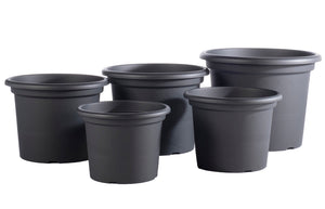 Geo Planter, Anthracite (sizes sold separately)