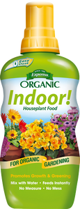 Indoor! Organic Plant Food 8 oz