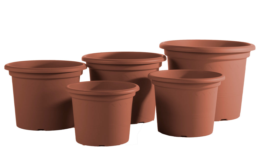 Geo Planter, terracotta (sizes sold separately)