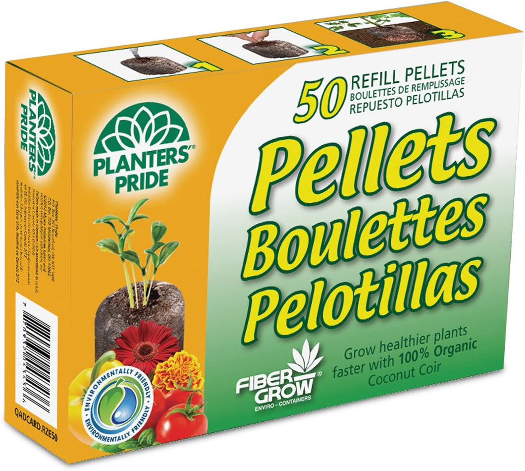 Coir Pellet Refill 50 pack 42mm