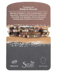 Scout Curated Wears Stone Wrap Bracelet/Necklace