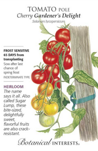 Tomato, Cherry Pole - Gardener's Delight