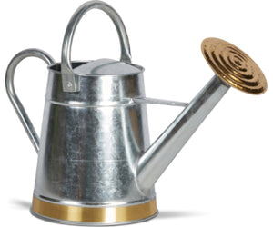 Watering Can, Tapered Galvanized