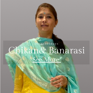 Chikankari and Banarasi Suits