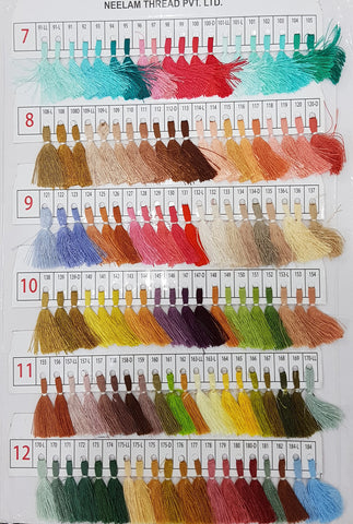Neelam Colour Chart -2