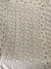 Load image into Gallery viewer, Mukaish Chikankari Dupatta