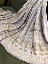 Load image into Gallery viewer, Lilac Gota Patti Chikankari Lehenga Set - Dress365days