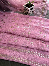 Load image into Gallery viewer, Pink Gota Patti Lucknowi Chikankari Suit - Dress365days
